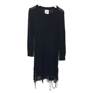 UNIF | Loose Strings Sweater Dress Shredded *FLAWS